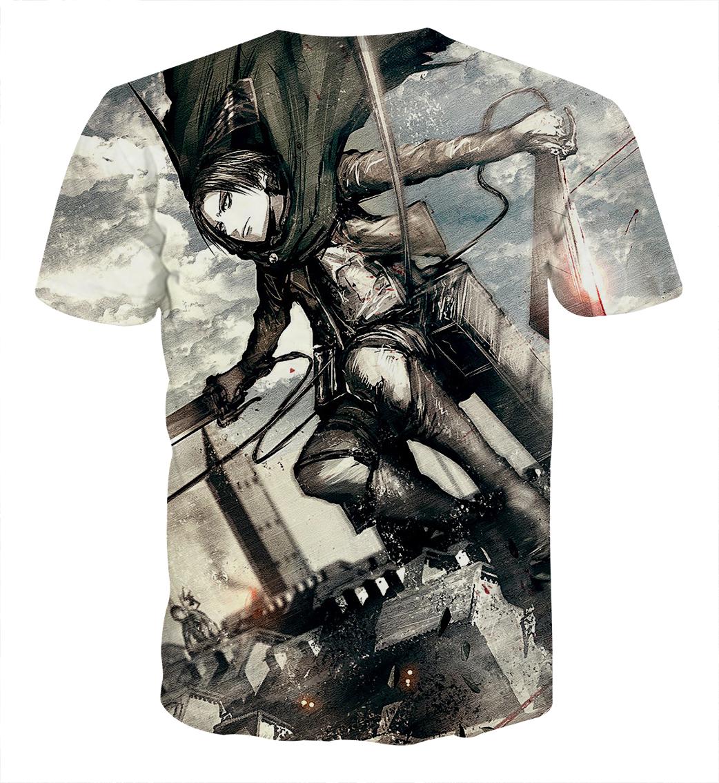 Tee shirt Attaque des titans fragrance dos