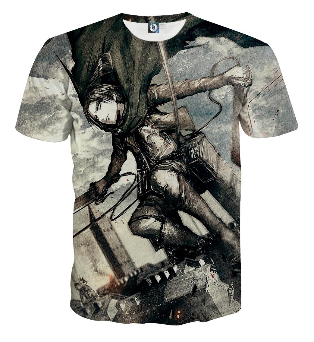Tee shirt Attaque des titans fragrance
