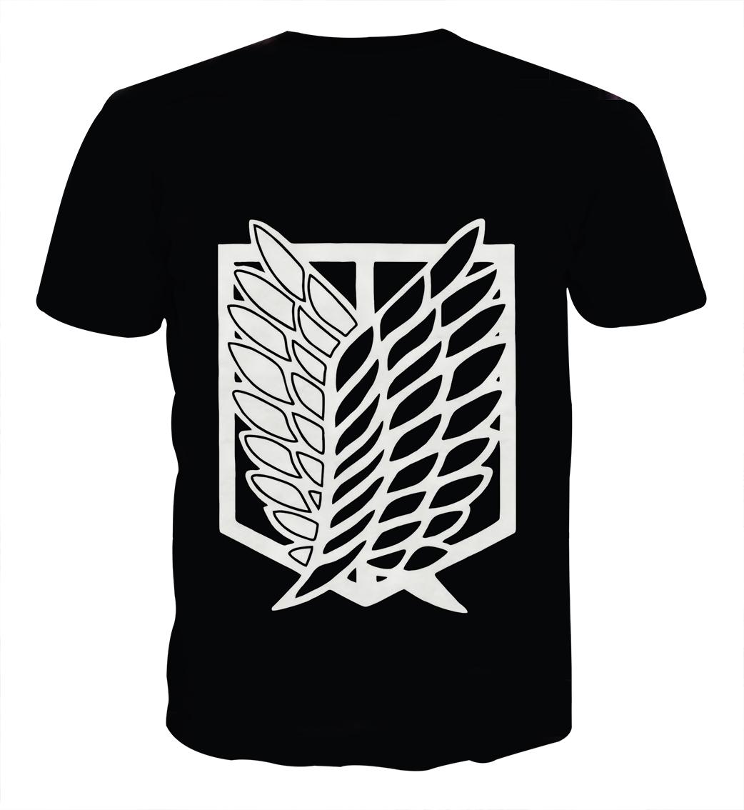 Tee shirt Attaque des titans logo dos