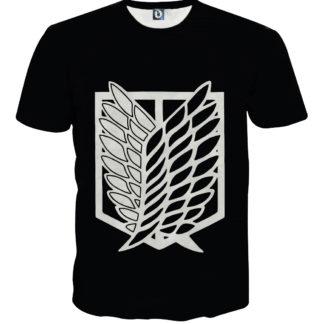Tee shirt Attaque des titans logo