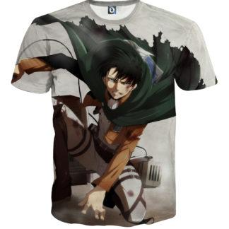 Tee shirt Attaque des titans logo roulade