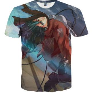 Tee shirt Attaque des titans vent