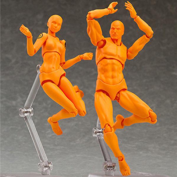 Body-kun-&-Body-chan-archetype-[Orange-color-version-spécial]