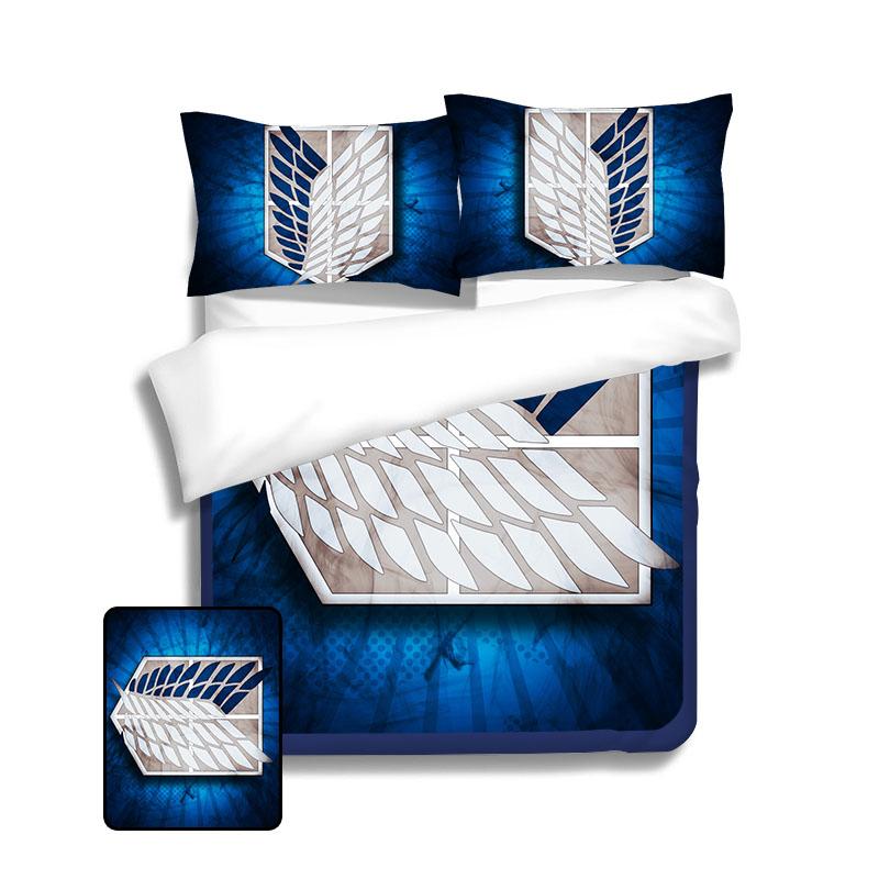 Set de lit Attaque des titans