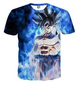 Tee shirt Dragon Ball San Goku concentration