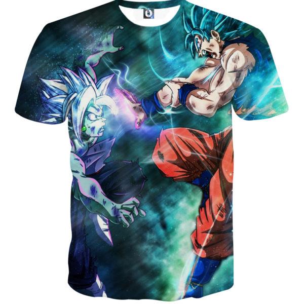 Tee shirt Dragon Ball San Goku X Zamasu