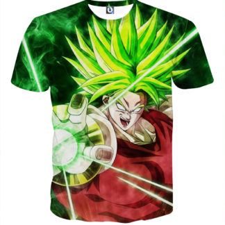 Tee shirt Dragon Ball Broly guerrier millénaire
