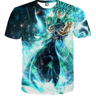 Tee shirt Dragon Ball Vegetto super saiyan God