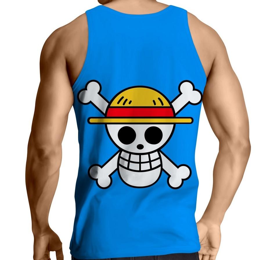 Débardeur One Piece Mugiwara logo dos