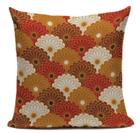 taie d 39 oreiller canvas japonais fuyu 45 45cm la boutique du japon. Black Bedroom Furniture Sets. Home Design Ideas