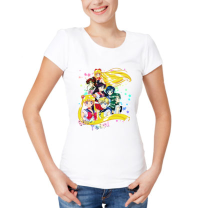 Tee shirt Yumelolita Sailor Moon Equipe