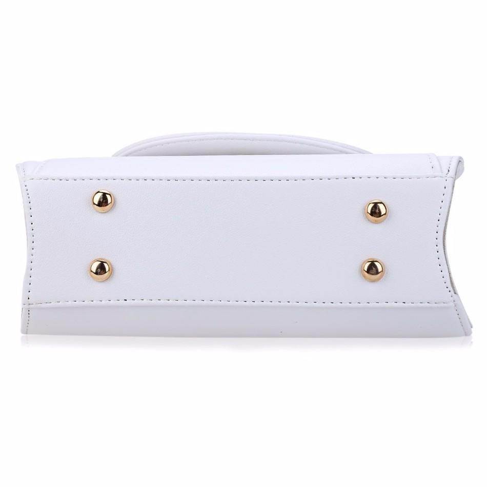 Sac à main bandoulière chaîne d'inspiration Sailor Moon Blanc