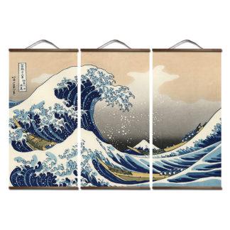 décoration murale japonaise