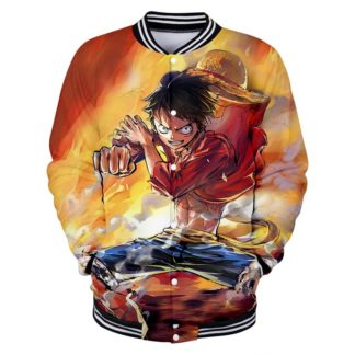 Veste One Piece Luffy Art