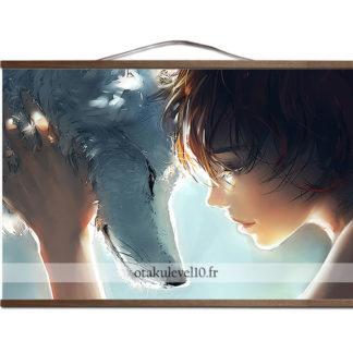 Poster canevas Ghibli