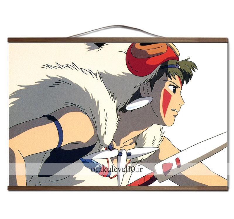 Poster Ghibli Princesse Mononoke